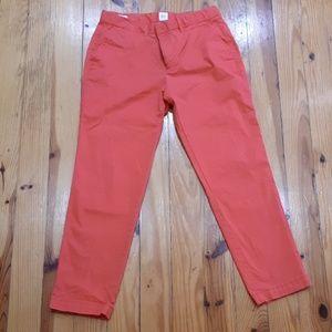 Coral Gap Slim City Crop pants